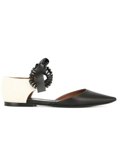 Proenza Schouler ankle strap ballerina shoes