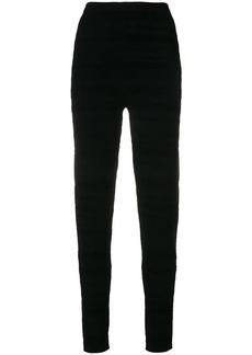 Proenza Schouler ankle zip skinny trousers
