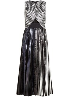 Proenza Schouler Anniversary Collection Sequin Dress with Cut-Out Detail