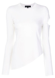Proenza Schouler asymmetric knit top
