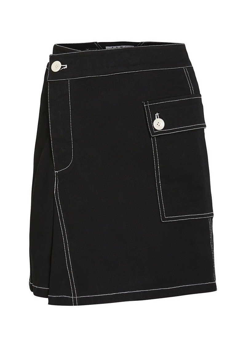 Proenza Schouler Asymmetric Utility Skirt