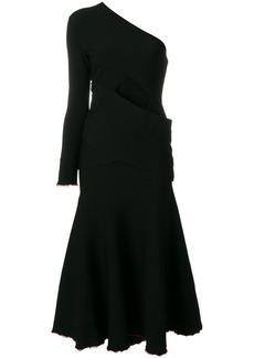 Proenza Schouler asymmetrical one sleeve dress