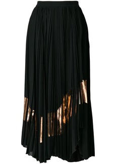 Proenza Schouler asymmetrical pleated skirt