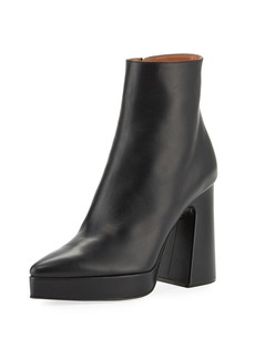 Proenza Schouler Ave Platform Pointed-Toe Booties