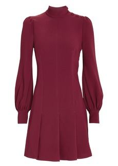 Proenza Schouler Balloon Sleeve Crepe Mini Dress