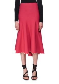 Proenza Schouler Bandage Knit Midi Skirt