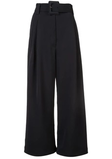 Proenza Schouler Belted Crêpe Pants