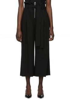 Proenza Schouler Black Paperbag Wide Trousers