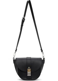 Proenza Schouler Black Small PS11 Saddle Bag