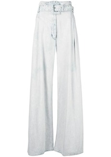Proenza Schouler Bleach Acid Belted Pants