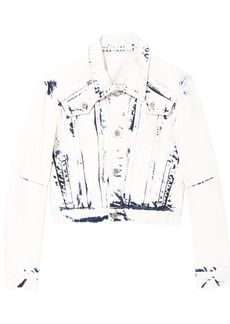 Proenza Schouler Bleached Cropped Jacket