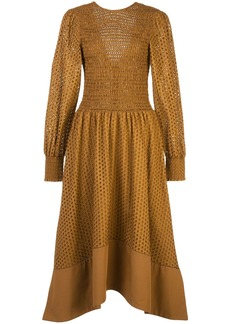 Proenza Schouler broderie anglaise flared dress