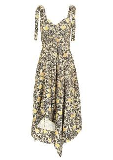 Proenza Schouler Cami Asymmetric Hem Dress