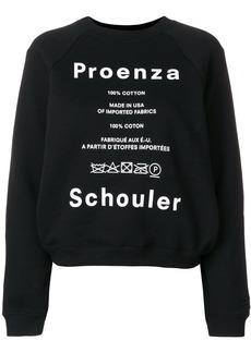 Proenza Schouler care label sweater