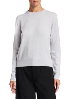 Proenza Schouler Cashmere & Silk Blend Crewneck Sweater