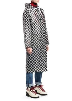 Proenza Schouler Checkerboard Anorak Raincoat