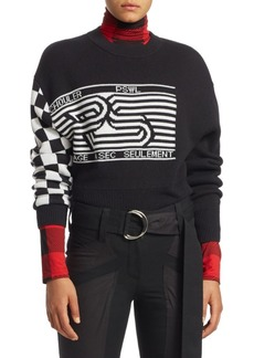 Proenza Schouler Checkerboard Jacquard Sweater