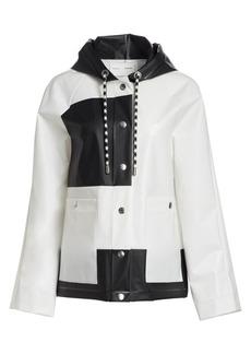 Proenza Schouler Colorblock Raincoat