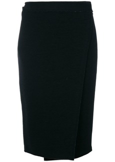 Proenza Schouler contrast zipped detailed skirt