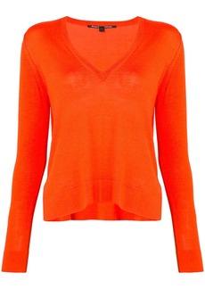 Proenza Schouler Cotton Silk Wave Pullover