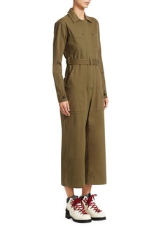 Proenza Schouler Cotton Twill Jumpsuit