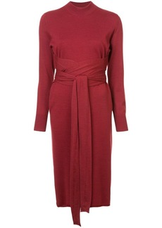 Proenza Schouler Crewneck Wrap Dress