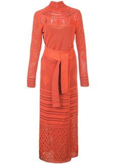 Proenza Schouler Crochet Crewneck Dress