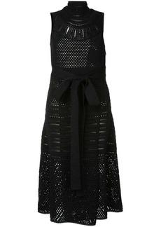 Proenza Schouler Crochet Sleeveless Crewneck Dress