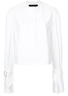 Proenza Schouler Cropped Cotton Top