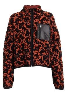 Proenza Schouler Cropped Leopard Print Jacket