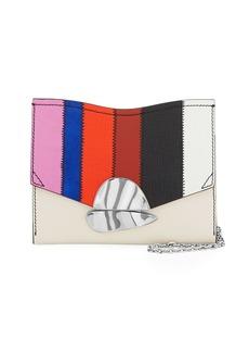 Proenza Schouler Curl Colorful Patchwork Clutch Bag