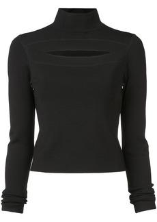 Proenza Schouler cut-detail fitted sweater