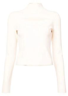Proenza Schouler cut-detail funnel neck sweater