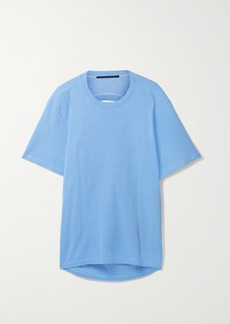 Proenza Schouler Cutout Cotton-jersey T-shirt