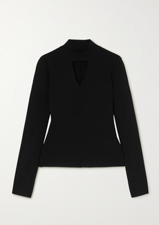 Proenza Schouler Cutout Knitted Turtleneck Sweater