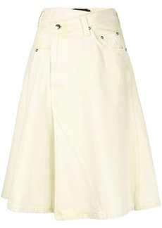 Proenza Schouler Denim Asymmetric Skirt