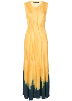 Proenza Schouler Dipped Tie Dye Knotted Back Dress