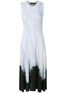 Proenza Schouler tie-dye sleeveless knotted dress