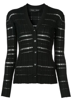Proenza Schouler distressed cardigan