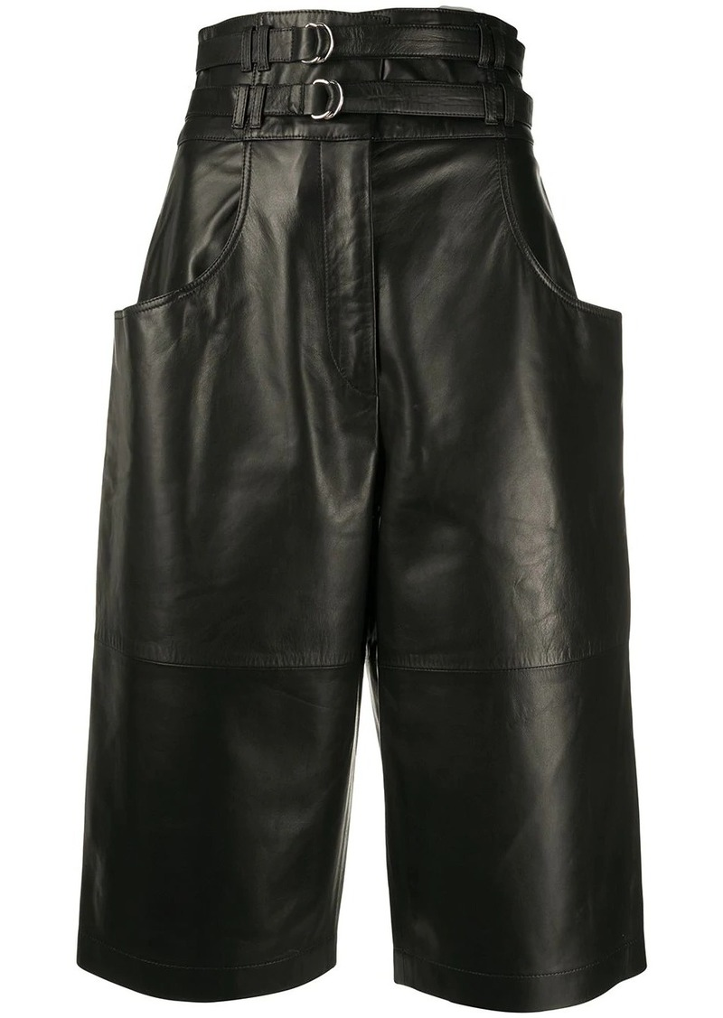 Proenza Schouler double-belted long shorts