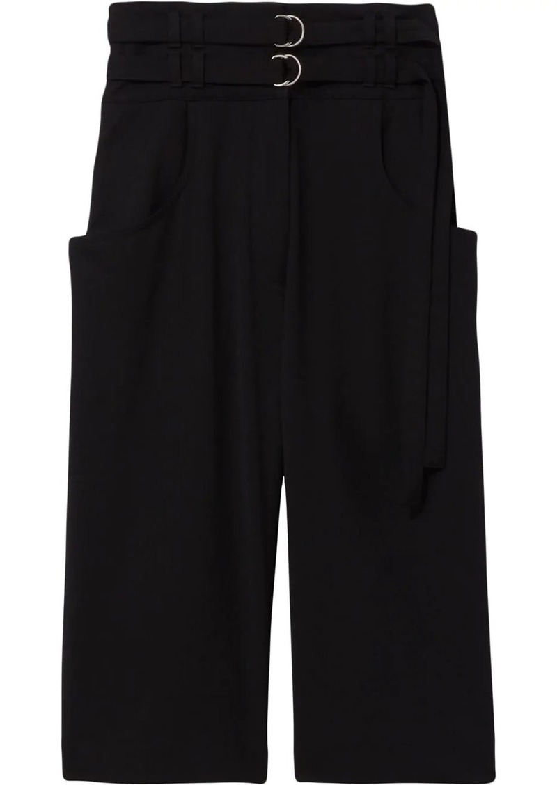 Proenza Schouler double-belted waist culottes