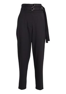 Proenza Schouler Double Belted Wool Pants