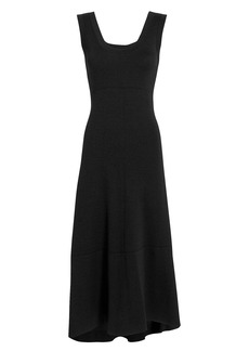 Proenza Schouler Double-Faced Wool Midi Dress