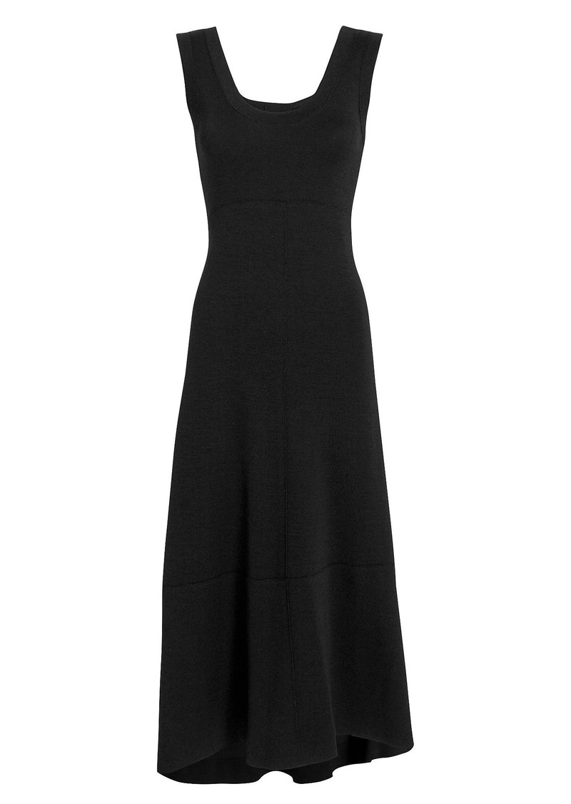 abd8b3eac073 Proenza Schouler Double-Faced Wool Midi Dress | Dresses