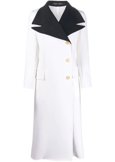 Proenza Schouler double lapel coat
