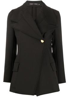 Proenza Schouler double lapel fitted blazer