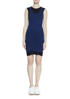 Proenza Schouler Double-Layer Fine Rib Jersey Tank Dress