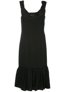 Proenza Schouler draped collar dress