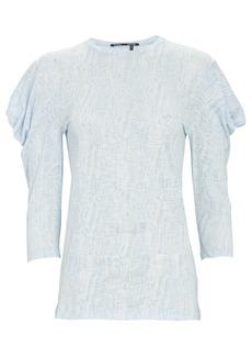 Proenza Schouler Draped Puff Shoulder T-Shirt