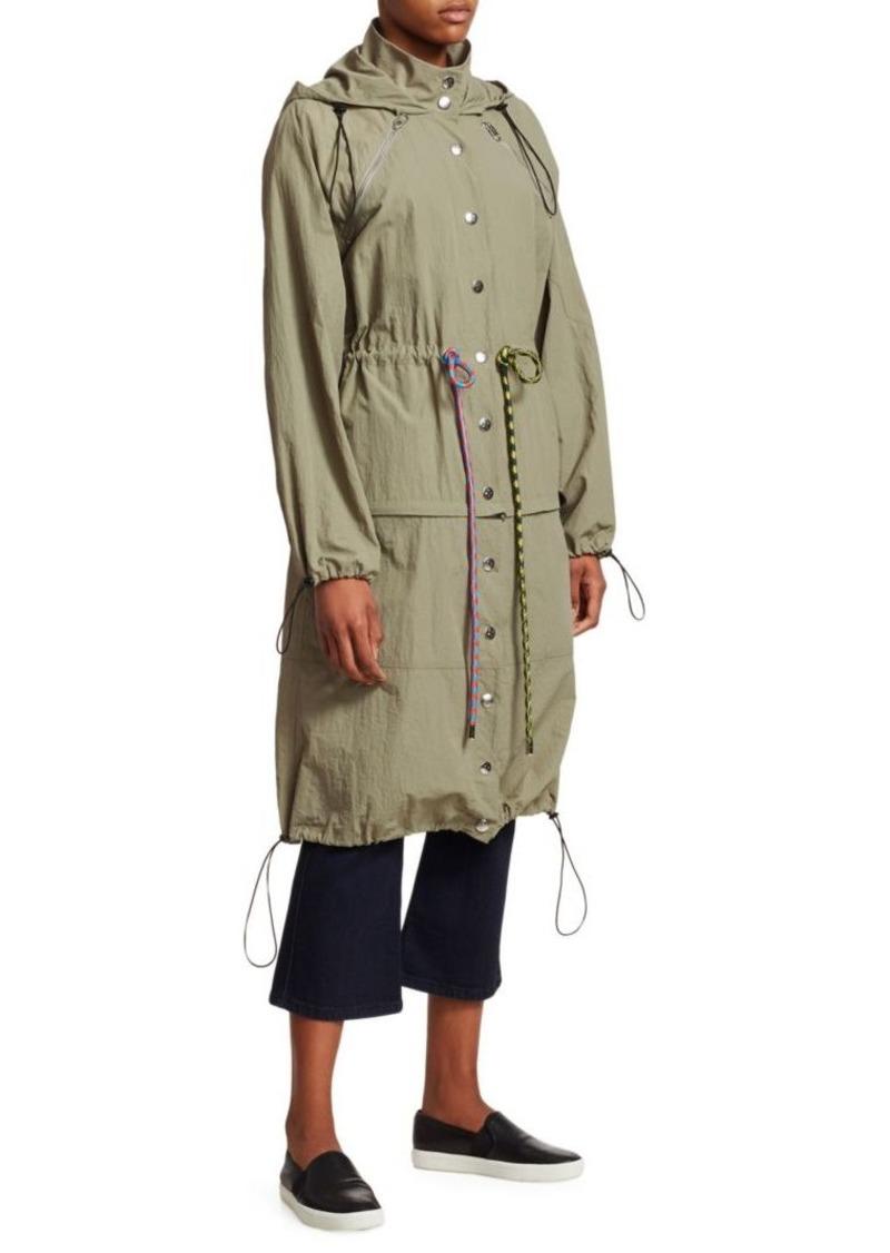 Proenza Schouler Drawstring Convertible Coat